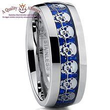 Short Time Delivery OEM skull rings for mens jewelry