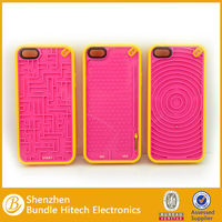 Retro Maze Game Hard TPU Case For iPhone 5 5s