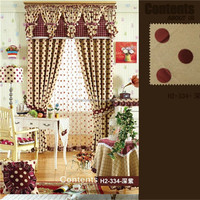 art curtains fabric for hotel bunk bed in korea