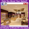 Elegant mdf store interior design for jewelry showroom furnitures