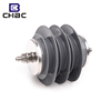 CHBC High Voltage Polymeric Metal-Oxide 9Kv Surge Arrester / Lightning Arrestor