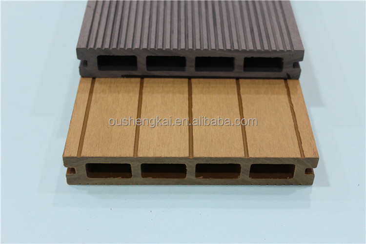150mm*25mm Anti-UV wood plastic composite, recyclable,waterproof,WPC decking flloor(OD-150H-25)
