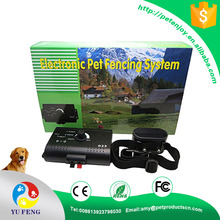 VS-023B Electric Small Dog Pet Fencing System Shock Rechargeable waterproof Collar customized logo printing