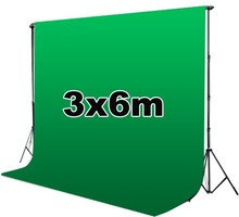photo backdrop paper photo background photography backdrop 3*6M green chromakey