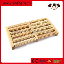 6 rows wooden revitive foot massager
