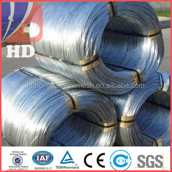 galvanized binding wire 800kg/coil