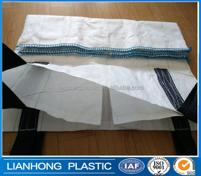 Recycled sand copper concentrate pp jumbo bag over 160gsm fabric manufacture ,cheap jumbo bag size