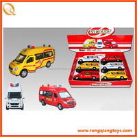 toy model wholesale toy cars HOT pull back diecast model ambulance car ambulance toy car PB0731113988