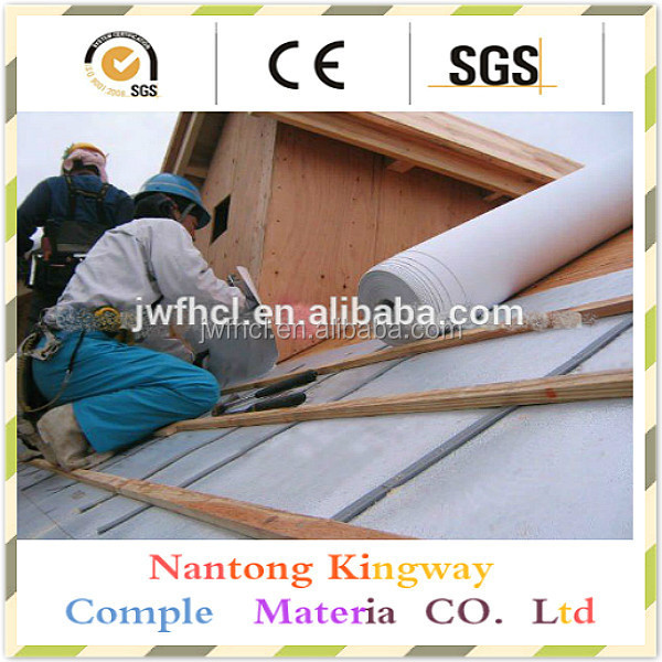 waterproof and breathable plastic roof membrane