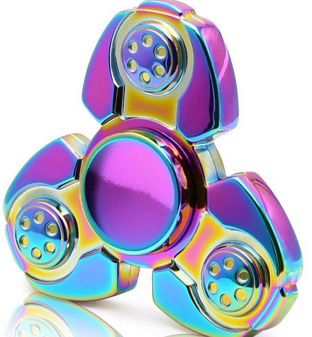 2017 very hot new design custom logo printing GOGO-78 spinning fidget spinner