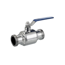 HF1A003 DN20 Top Quality Low Price 304 Stainless Steel Sanitary Ball Valve