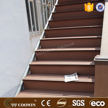 building material supplier beech wood timber bridge planks cheap hollow wpc composite deck