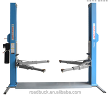 cheap used 2 two post car lift double cylinder hydraulic lift for sale for 3D wheel alignment