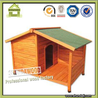 SDD09 Apex roof dog kennel with porch
