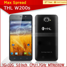"Original phone THL W200S MTK6592W Octa Core 5.0"" HD screen Android smart phone"