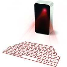 Wireless Bluetooth Laser Keyboard for Tablet Laptop Smart Phone PC with power bank