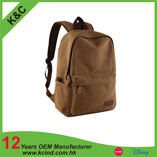 new design china suppliers canvas backpack