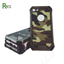 Manufacturer wholesale camouflage army leather cases back cover for Apple iPhone 6 & 6s for iPhone 7 plus