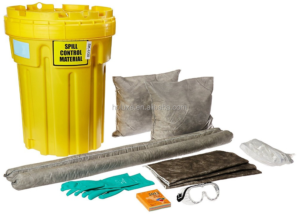 HAOMEI Absorbent universal spill kit,grey