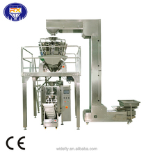 snacks seeds nuts powder chips salt sugar full automatic weighing packing machine
