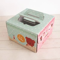 China Wholesale Food Grade Cake Box with Board