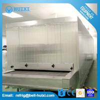 IQF Tunnel Quick Freezing Machine Commercial Freezer