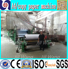 zhengzhou guangmao newspaper a4 office paper recycling products center machine
