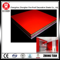 internal wall panel compact laminate board fireproof board hpl phenolic resin board