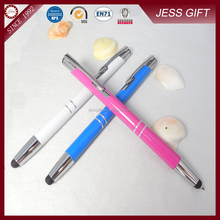 Latest popular metal multi-function click ball point pen
