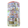 High Quality Custom Design Fancy Cylinder Shape Small Cookie Storage Tin Boxes