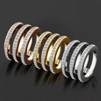 Ally Express Cheap Wholesale New Design Gold Ladies Finger Ring For Girls,Silver Diamond Price Stainless Steel Ring
