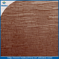 best selling pvc toothpick pattern 1.2mm spunlace backing bag raw materials