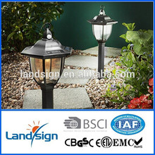 Cixi landsign venta caliente solar luces outdoor XLTD-249B solar garden light globe