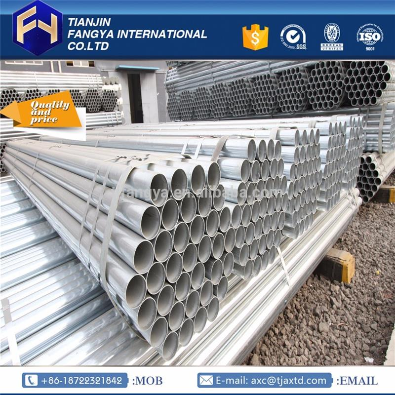 GI Pipes ! galvanized steel pipe for low pressure liquid inner threaded gi pipe with low price