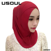 Wholesale Low Price Print Plain Pure Color Scarves Cross Cover Modal Headscarf Islamic Woman Muslim Amira Hijab