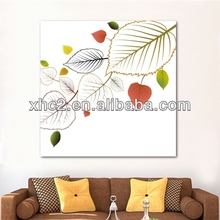Lovely leaf design Art Pictures / Wall Paintings for home decoration