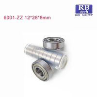 China High Quality and Competitive Deep Groove Ball Bearing 6001-ZZ/C0 for Skateboards