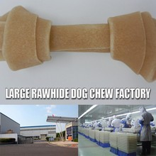 chinese dog smoked pet product rawhide dog feed striped dog toy animal duck