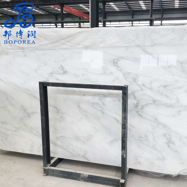 Own factory chinese white carrara marble slab,carrara mermer plakalar fiyat