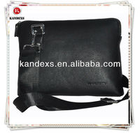 2013 new arrival leather man bag with high grade material