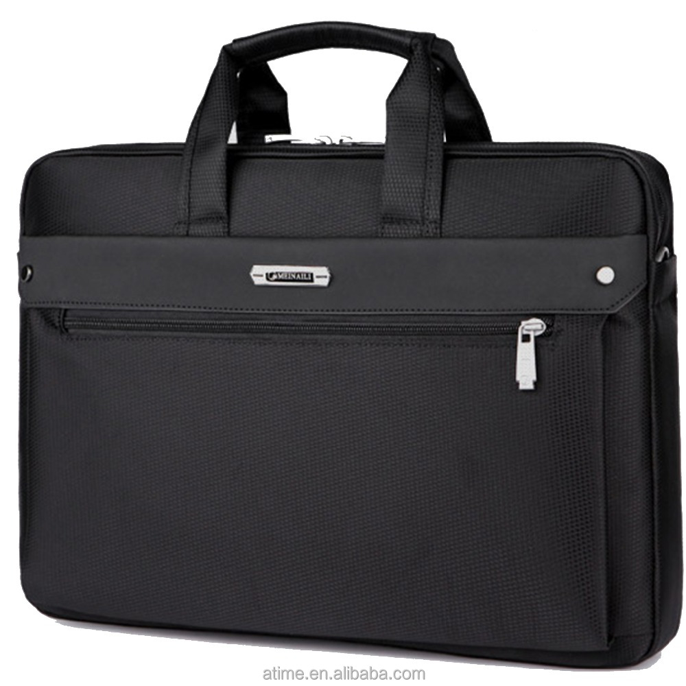 A comprehensive shockproof Business handbag with laptop compartment Briefcase