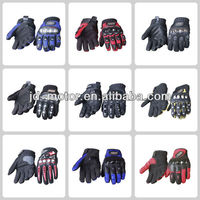 2013 new arrival leather motorcycle gloves