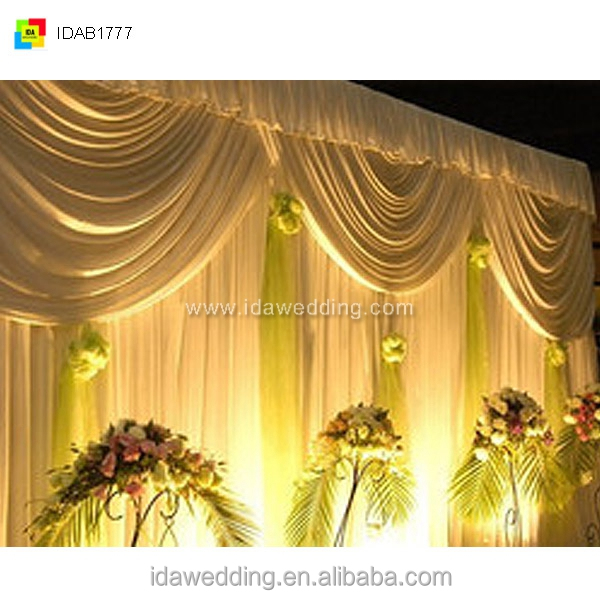swags curtains for wedding/bead drapes/indian wedding mandap designs
