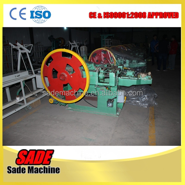 MS Wire Nail nails making machine