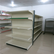 DC-18 Heavy Duty Supermarket Shelf With Wire Basket