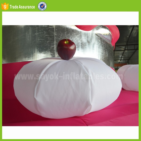 gaint inflatable birthday cake wedding used inflatable model fruit cake