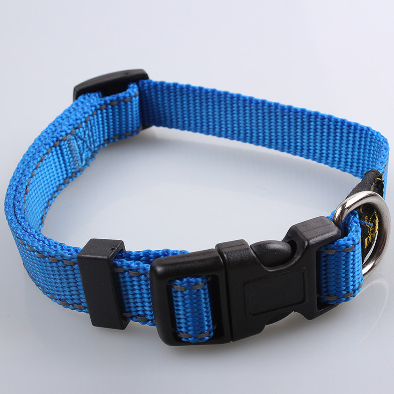 Best selling fashion made wholesale custom reflective dog collar