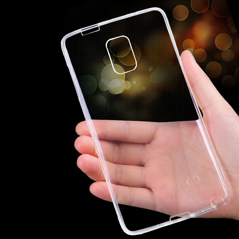 Note 4 Case Luxury Ultra Thin Crystal Clear Soft TPU Gel Case For Samsung Galaxy I 8150 i8150 Phone Back Cover Bag Note4 in sto