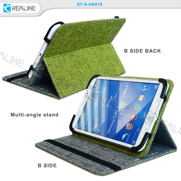 For 8 inch tablet case 180 degree flip full tower atx horizontal pc case