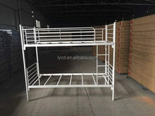 Wholesale Super Quality Double Decker Bunk canopy Metal Bed for UK Market